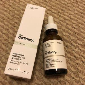 The ordinary granactive retinoid emulsion